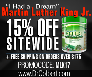 DrColbert.com - Save 15% on all our products during Martin Luther King Day