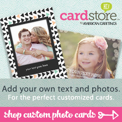 Shop Custom Photo Cards!