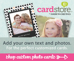 Shop Custom Photo Cards!