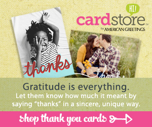 Shop Thank You Cards!