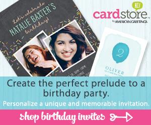 Shop Birthday Invites!