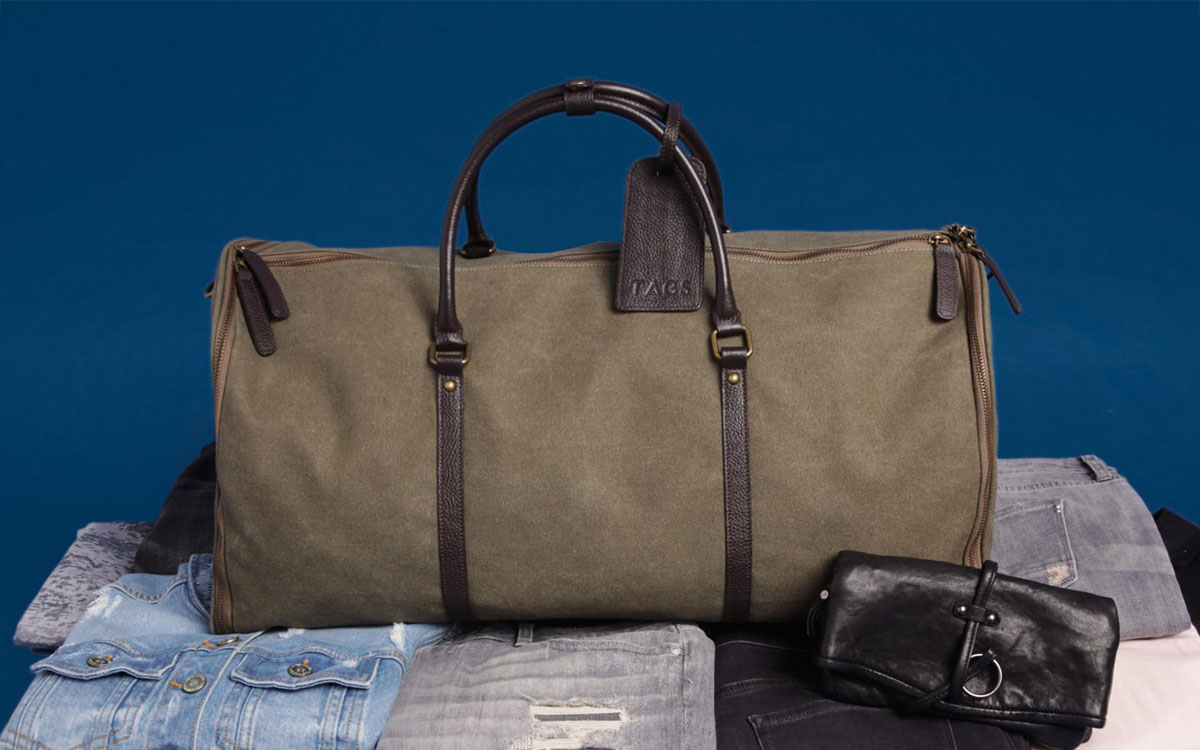 Spend $250, Get the Ultimate Weekender Bag for Free