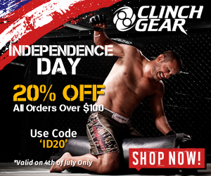 Clinch Gear - 20% OFF on Orders Over $200