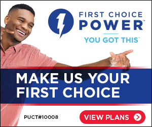Make First Choice Power your First Choice.