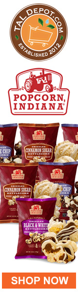 Popcorn Indiana Drizzled