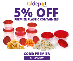 Premier Plastic Containers Sale. Use Code: PREMIER at Checkout and Get 5% OFF