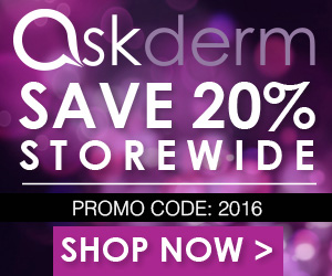 Shop Askderm.com & save 20% Storewide today!