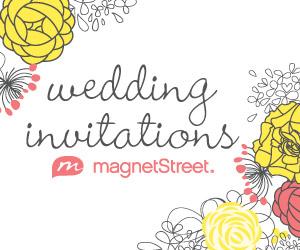 Shop Wedding Invitations at MagnetStreet.com!