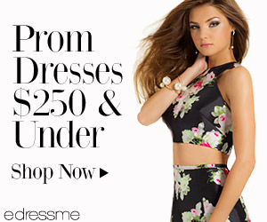 LUXE FOR LESS: Prom Dresses - $250 & Under