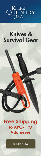 Knives and Survival Gear - Free Shipping to Military