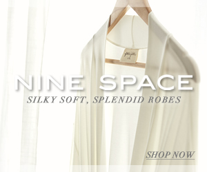 Nine Space Bamboo Viscose Robes