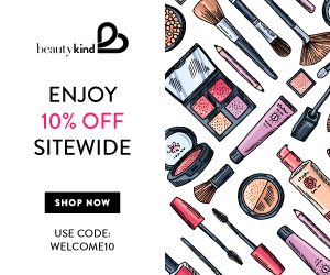 Get 10% off sitewide with promo code welcome10 at beautykind