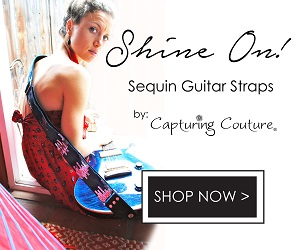 Capturing Couture Stylish Guitar Straps
