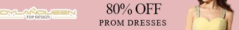 80% off Prom Dresses