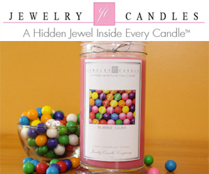 Gift surprise! JewelryCandles.com - A Hidden Jewel Inside Every Candle!