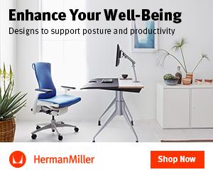 Herman Miller banner