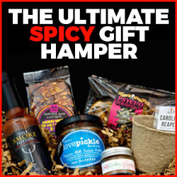 The ultimate spicy gift hamper