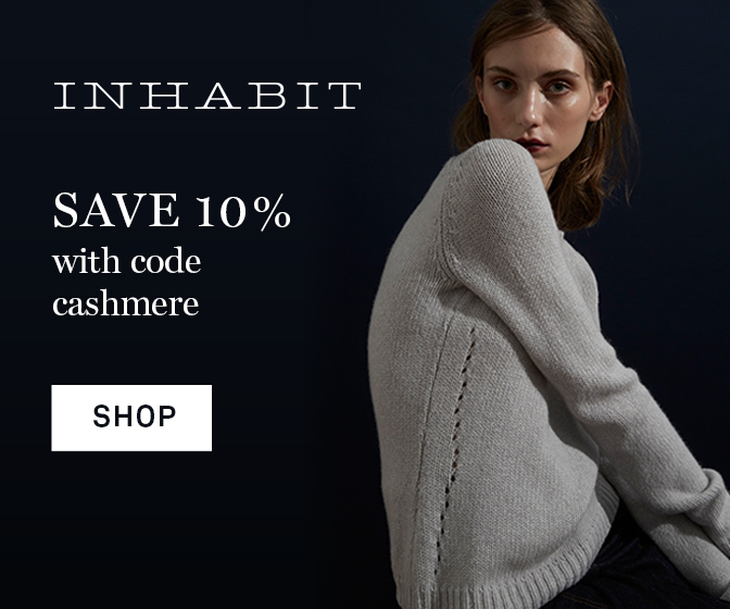 InhabitNY.com - Click Here and Save 10% With Code: Cashmere
