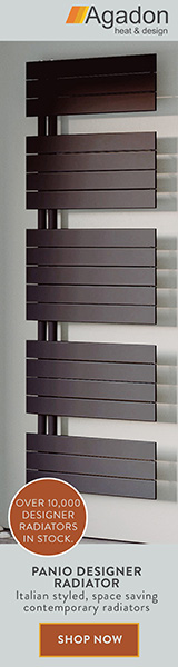 Panio Designer Radiator now available at Agadon. Check this Italian styled, space saving contemporary radiator, click here!