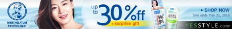 Mentholatum up to 30%off + surprise gift