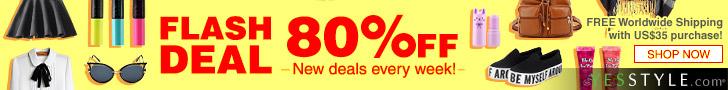 New 80%off Flashdeal