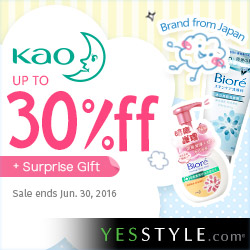 Kao Up to 30%off 2016