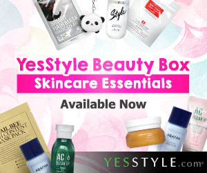YesStyle's Beauty Box  - Korean Skincare Essentials