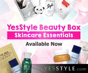 YesStyle's Beauty Box  - Korean Skincare Essentials
