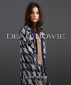 Dear Bowie Silk Loungewear