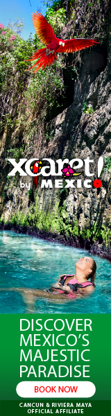 Xcaret 160X600 Cancun Attraction Travel