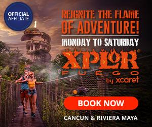 Xplor Fuego 300x250 Cancun Travel