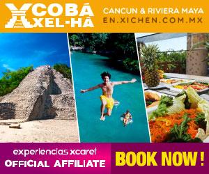 Tour Coba XelHá Park Cancun 300x250