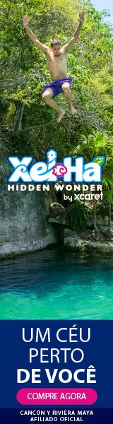 Xel-Ha PT Cancun México Férias Viagem