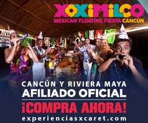 Xoximilco 300x250 Atracciones Noche Cancun Viaje