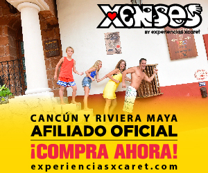 Xenses 300x250 Nueva Atracción Cancun Riviera Maya