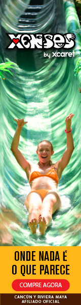 Xenses é o novo parque em Cancun e da Riviera Maya Experience Xcaret. Teste sua mente e seus sentidos enquanto desliza, voa e mergulha.