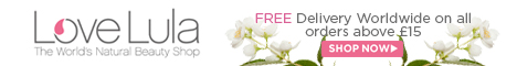 Look beautiful naturally with LoveLula, the world's natural beauty shop. Free delivery over £15. Shop now!