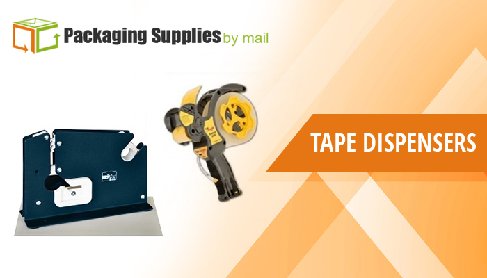 Tape Dispensers & Machines available at Packaging Supplies By Mail