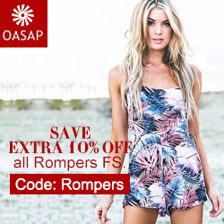 Enjoy extra 10% off with code:Rompers