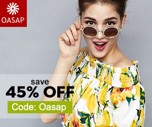 Save 45% off with code:OASAP