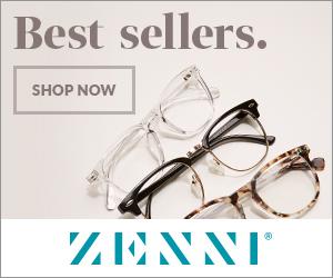 Zenni Optical banner