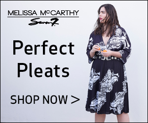 Melissa McCarthy Seven7 : Perfect Pleats