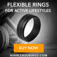 Enso Rings - Flexible Rings for Active Lifestyles
