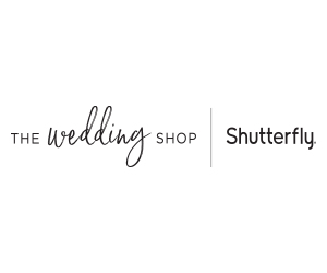 The Wedding Shop by Shutterfly Logo 300x250