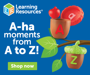 A-ha moments from A to Z! Shop now at LearningResources.com!