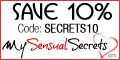 My Sensual Secrets - Lubes and Lotions