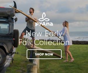 prAna New Early Fall 300x250