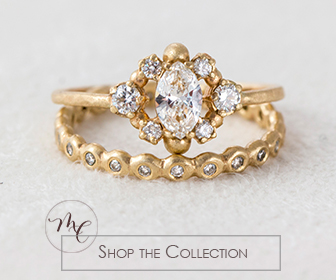 Melanie Casey Diamond Marquise Cluster Ring