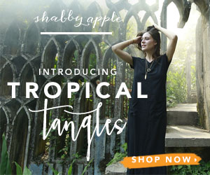 Introducing Tropical Tangles Collection! Shop Now at Shabby Apple!