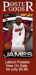 Lebron James Miami Heat Posters